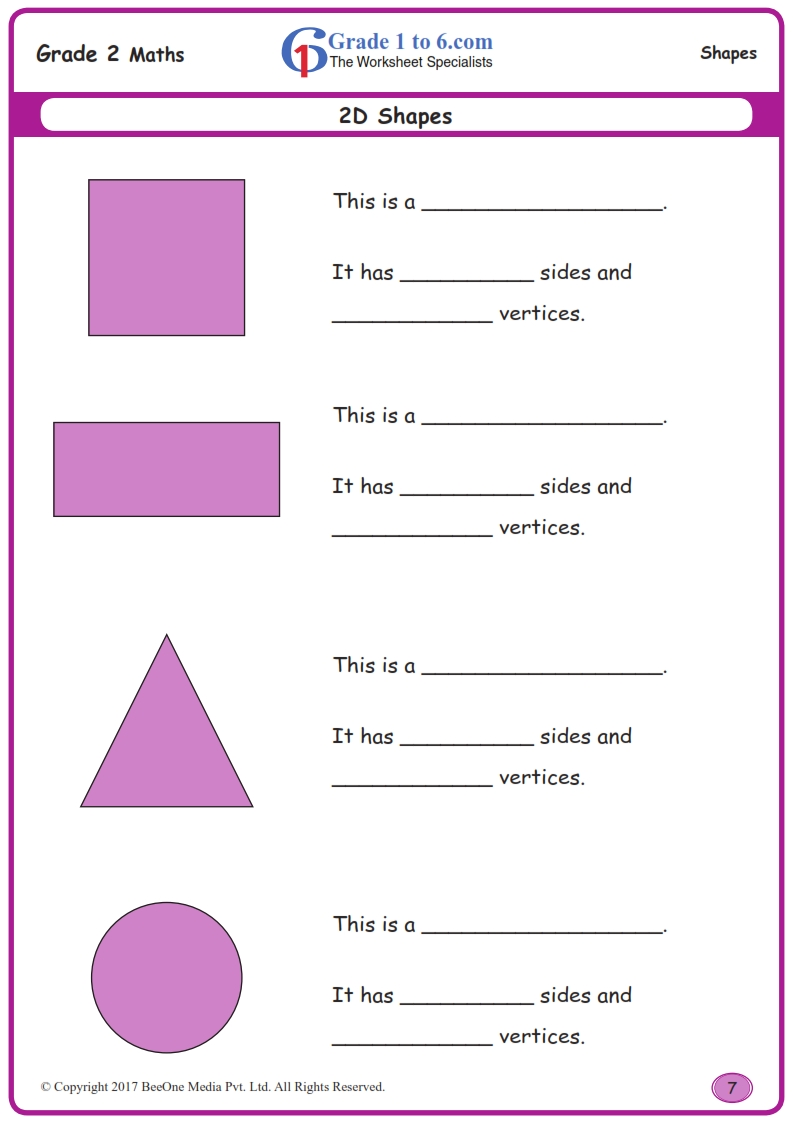 Free Math Worksheets For Grade 2 Class 2 Ib Cbse Icse K12 And All Curriculum