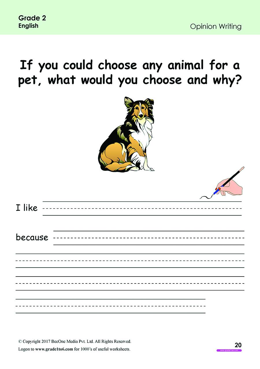 Free English Worksheets for grade 2 class 2 IB  CBSE ICSE ...